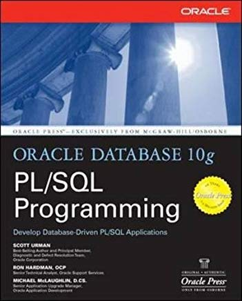 Oracle Database 10g PL/SQL Programming Cover
