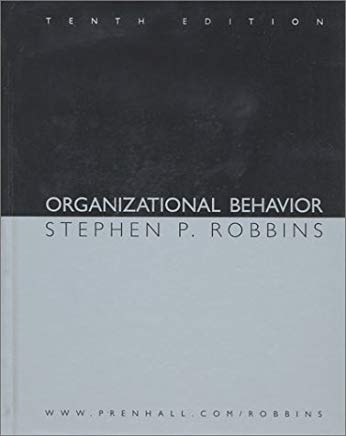 Organizational Behavior and Self-Assessment Library 2.0/2004 CD (10th Edition) Cover