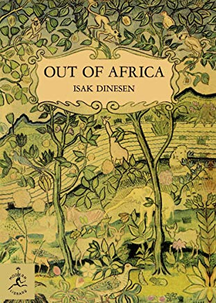 Out of Africa (Modern Library 100 Best Nonfiction Books) Cover