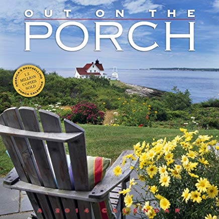 Out on the Porch 2014 Calendar Cover