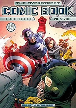 Overstreet Comic Book Price Guide Volume 45 Cover
