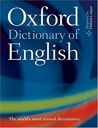 Oxford Dictionary of English Cover