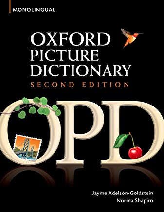 Oxford Picture Dictionary (Monolingual English) Cover