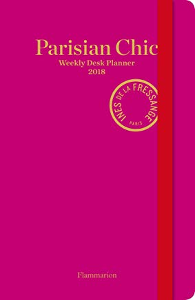 Parisian Chic Weekly Desk Planner 2018 Cover