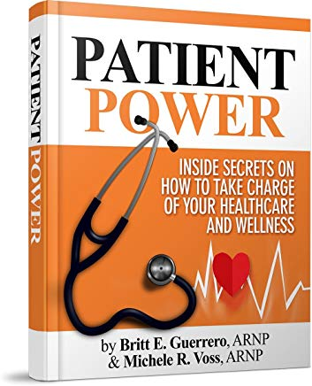 Patient Power: Inside Secrets on How to Take Charge of Your Healthcare and Wellness Cover