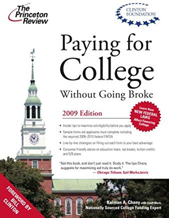 Paying for College without Going Broke, 2009 Edition (College Admissions Guides) Cover