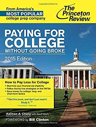 Paying for College Without Going Broke, 2015 Edition (College Admissions Guides) Cover