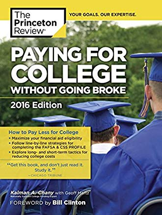 Paying for College Without Going Broke, 2016 Edition (College Admissions Guides) Cover