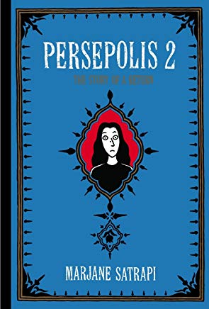 Persepolis 2: The Story of a Return (Pantheon Graphic Library) Cover