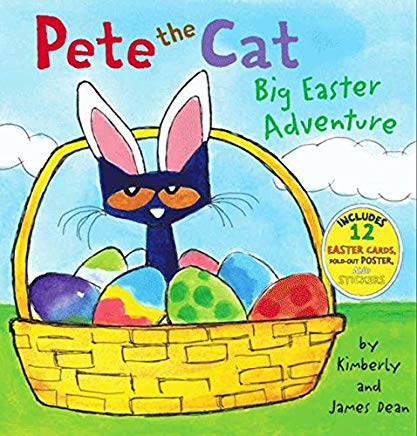 Pete the Cat: Big Easter Adventure Cover