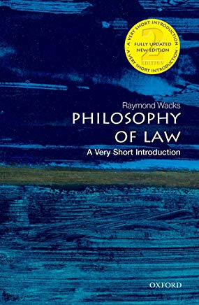 Philosophy of Law: A Very Short Introduction (Very Short Introductions) Cover