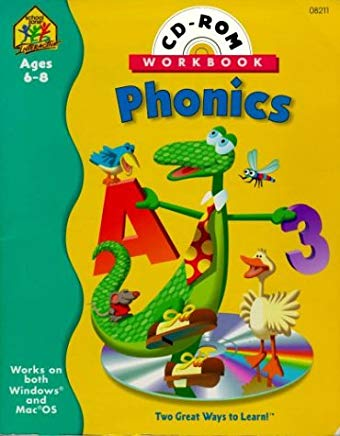 Phonics (Phonics Interactive Workbook with CD-ROM) Cover