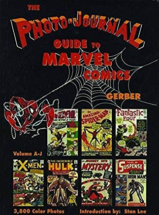 Photo-Journal Guide to Marvel Comics Volume 3 (A-J) Cover