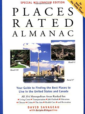 Places Rated Almanac (Special Millennium Edition) Cover