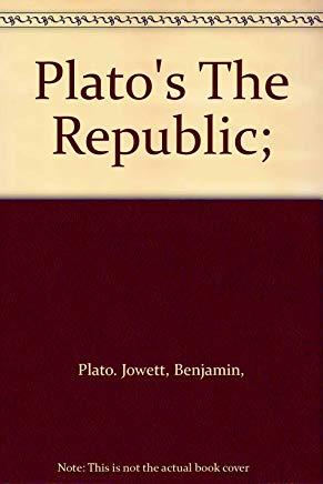 Platos the Republic Cover