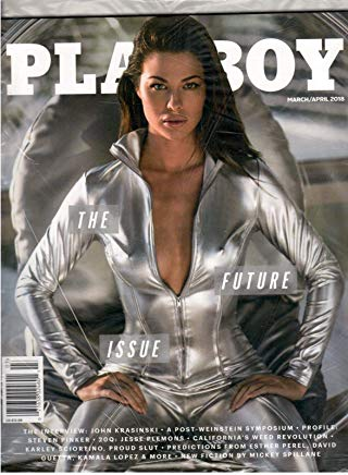 Playboy March/April 2018 - The Future Issue Cover