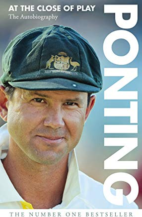 Ponting: At the Close of Play Cover