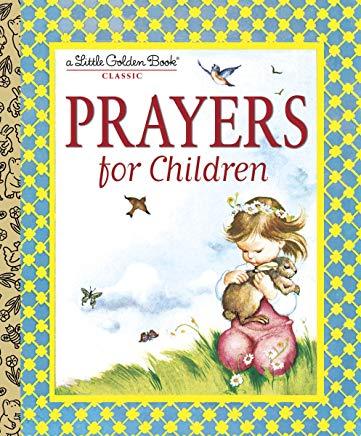 Prayers for Children (Little Golden Book) Cover