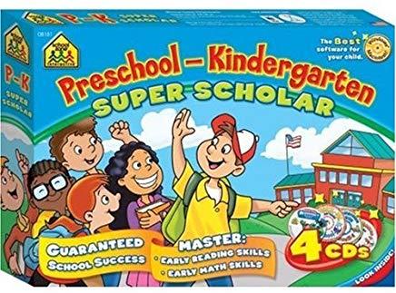 Preschool-Kindergarten Super Scholar Cover
