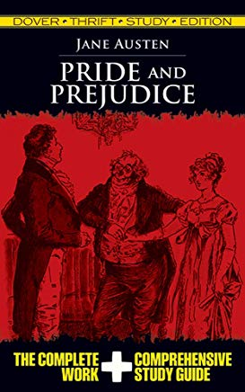 Pride and Prejudice (Dover Thrift Study Edition) Cover