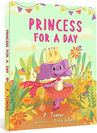 Princess for a Day (A book about kindness) Cover