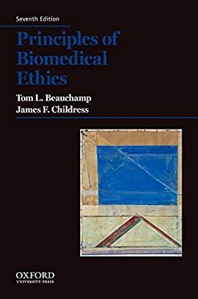 Principles of Biomedical Ethics (Principles of Biomedical Ethics (Beauchamp)) by Beauchamp, Tom L. Published by Oxford University Press, USA 7th (seventh) edition (2012) Paperback Cover
