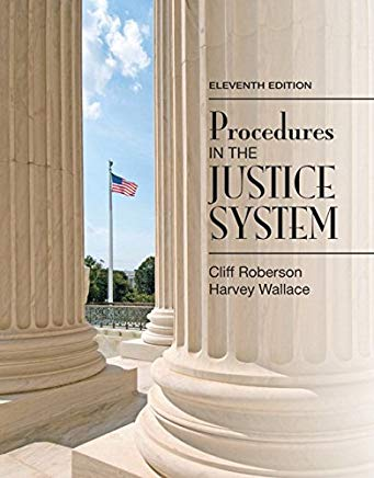 Procedures in the Justice System (11th Edition) Cover