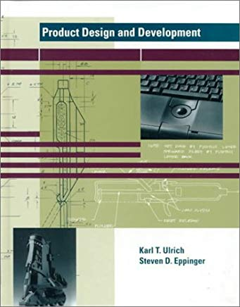 Product Design and Development Cover
