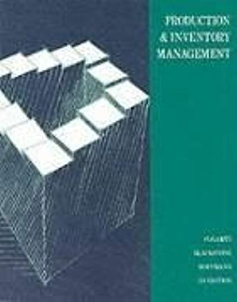 Production and Inventory Management Cover