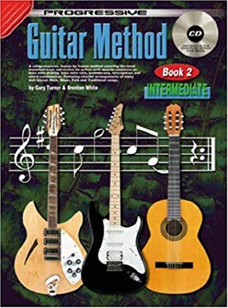 Progressive Guitar Method, Book 2: Intermediate Cover