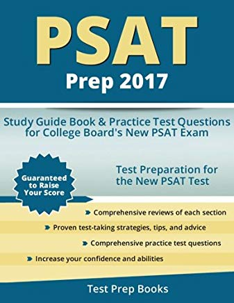 PSAT Prep 2017: Study Guide Book & Practice Test Questions for College Board's New PSAT Exam Cover
