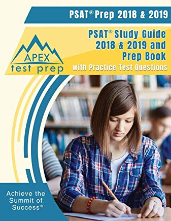 PSAT Prep 2018 & 2019: PSAT Study Guide 2018 & 2019 and Prep Book with Practice Test Questions Cover