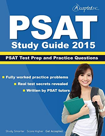 PSAT Study Guide 2015: PSAT Test Prep and Practice Questions Cover