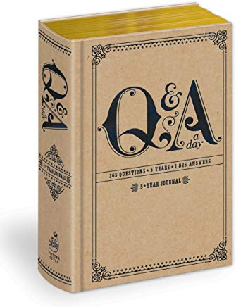 Q&A a Day: 5-Year Journal Cover