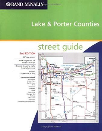 Rand McNally Lake & Porter Counties: Street Guide (Rand McNally Lake & Porter Counties (Indiana) Street Guide) Cover