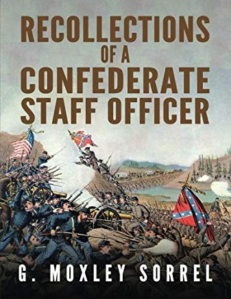 Recollections of a Confederate Staff Officer Cover