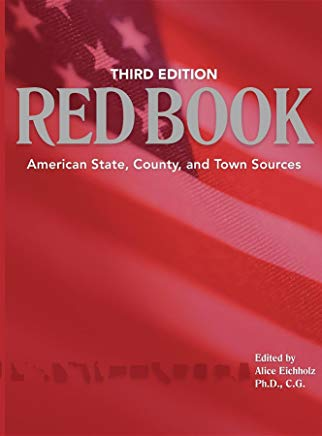 Red Book: American State, County & Town Sources, Third Edition Cover