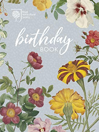 RHS Birthday Book Cover