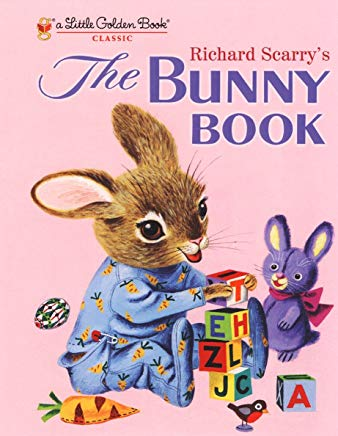 Richard Scarry's The Bunny Book (Little Golden Book) Cover