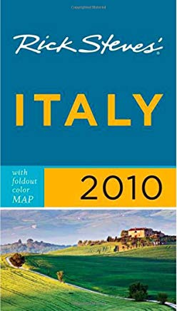 Rick Steves' Italy 2010 with map Cover