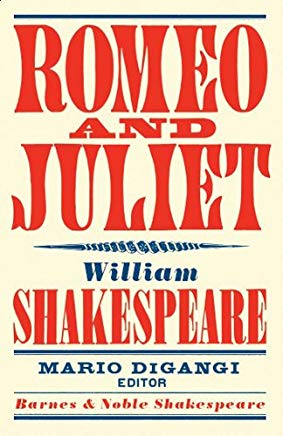 Romeo and Juliet (Barnes & Noble Shakespeare) Cover