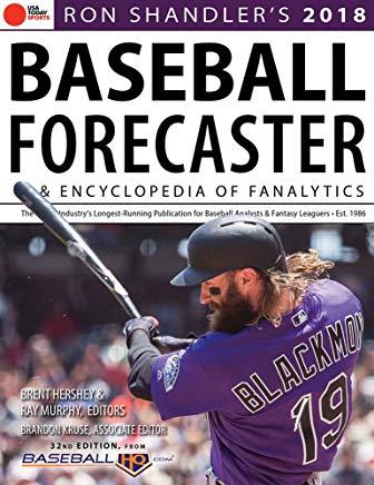 Ron Shandler's 2018 Baseball Forecaster: & Encyclopedia of Fanalytics Cover