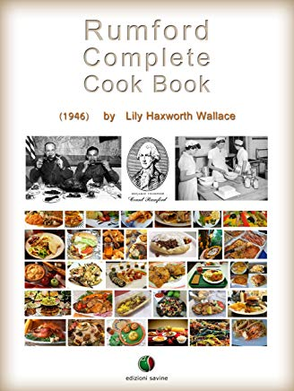 Rumford Complete Cook Book Cover