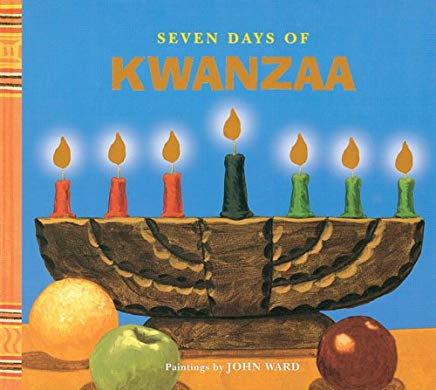 Seven Days of Kwanzaa (Holiday Step Book) Cover