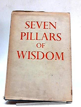 SEVEN PILLARS OF WISDOM : A TRIUMPH. Cover
