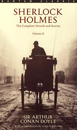 Sherlock Holmes: The Complete Novels and Stories, Volume II (Bantam Classic) Cover
