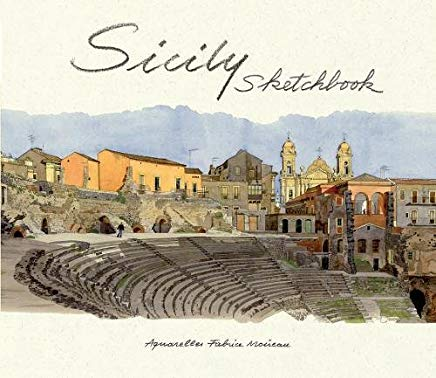 Sicily Sketchbook Cover