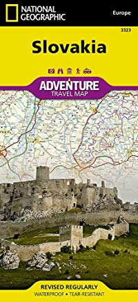 Slovakia (National Geographic Adventure Map) Cover