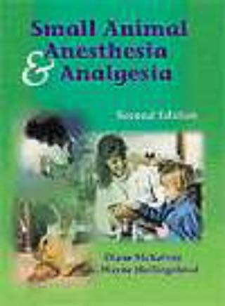 Small Animal Anesthesia and Analgesia Cover
