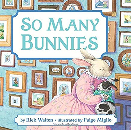 So Many Bunnies Board Book: A Bedtime ABC and Counting Book Cover